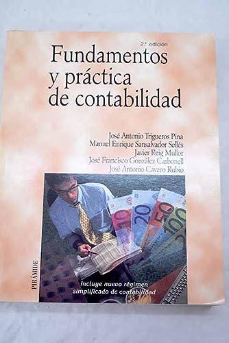 9788436819021: Fundamentos y practica de contabilidad / Fundamentals and Practice of Accounting (Economia Y Empresa) (Spanish Edition)