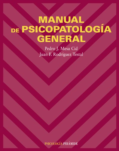 9788436821192: Manual de psicopatologia general/ General Psychopathology Manual (Spanish Edition)