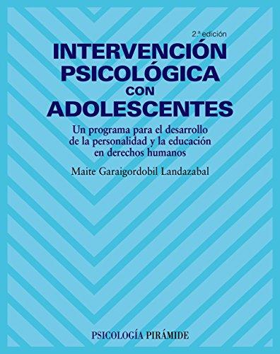 Intervención psicológica con adolescentes / Psychology Intervention with ...