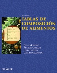 Tablas de composicion de alimentos / Food: Olga Moreiras, Angeles