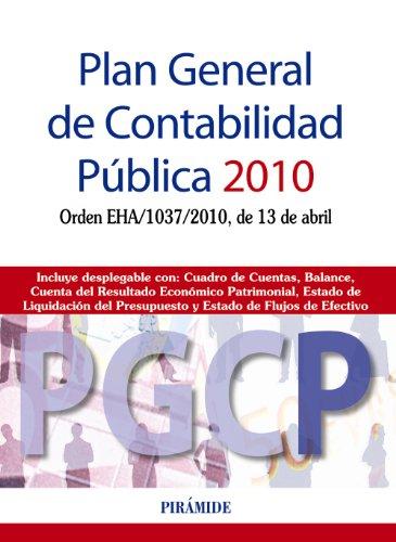 9788436824094: Plan General de Contabilidad Pública 2010: Orden EHA/1037/2010, de 13 de abril (Economía Y Empresa)