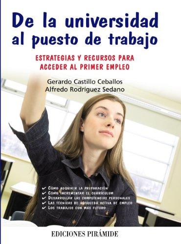 De la universidad al puesto de trabajo: Alfredo Rodríguez Sedano