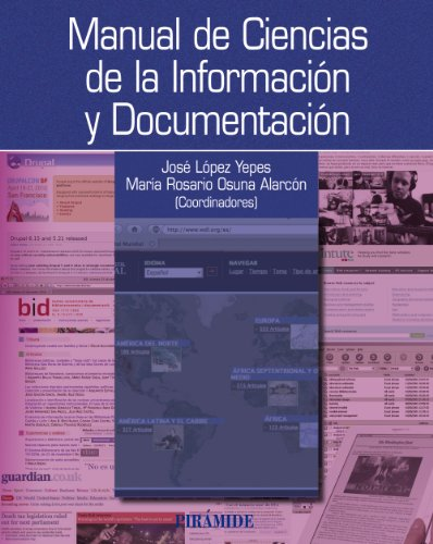 Manual de ciencias de la informacion y: Yepes, Jose Lopez/