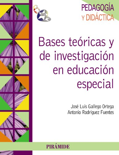 9788436825312: Bases teóricas y de investigación en educación especial (Psicología)