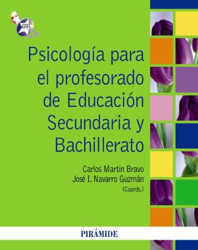 Psicología para el profesorado de educación secundaria