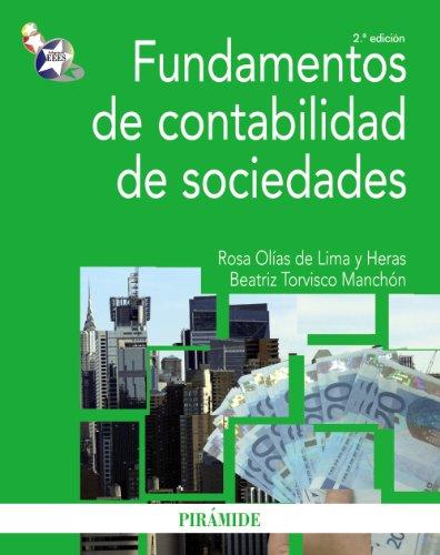 Fundamentos de contabilidad de sociedades: Torvisco Manchón, Beatriz
