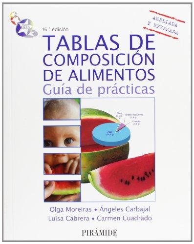 Tablas de composición de alimentos / Food: Carbajal, Ángeles, Vives,