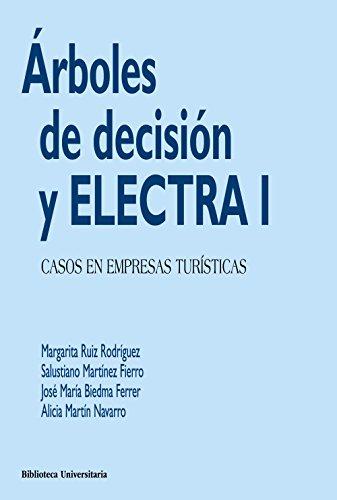 ÁRBOLES DE DECISIÓN Y ELECTRA I: CASOS EN EMPRESAS TURÍSTICAS: Margarita Ruiz ...