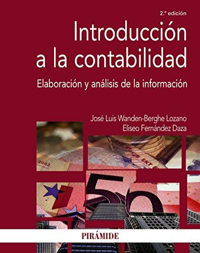 Introducción a la contabilidad: Wanden-Berghe, José Luis