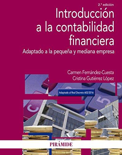 9788436837735: Introducción a la contabilidad financiera: Adaptado a la pequeña y mediana empresa (Economía Y Empresa)