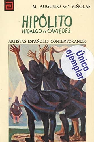 9788436905229: Hipolito Hidalgo de Caviedes (Artistas espanoles contemporaneos ; 116 ; Serie Pintores) (Spanish Edition)
