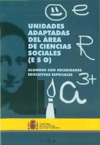 9788436934694: Unidades adaptadas del área de ciencias sociales (ESO). Alumnos con necesidades educativas especiales