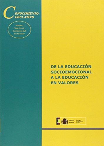 De la educación socioemocional a la educación: Yus Ramos, Rafael;