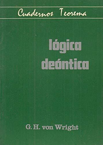 9788437000886: Logica deontica