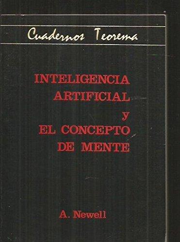 9788437001272: Inteligencia artificial y conceptode mente