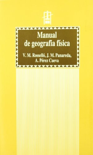 9788437034669: Manual de Geografia F�sica (2a ed.) (Educaci�. S�rie Materials)