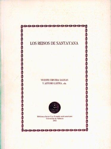 9788437054872: Los reinos de Santayana (Biblioteca Javier Coy d'estudis Nord-Americans)