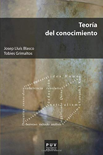 TEORIA DEL CONOCIMIENTO: BLASCO, JOSEP LLUIS; GRIMALTOS, TOBIES