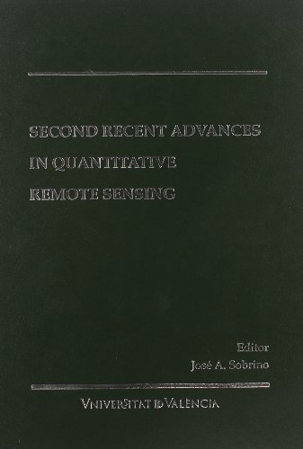 9788437065335: Second Recent Advances in Quantitative Remote Sensing