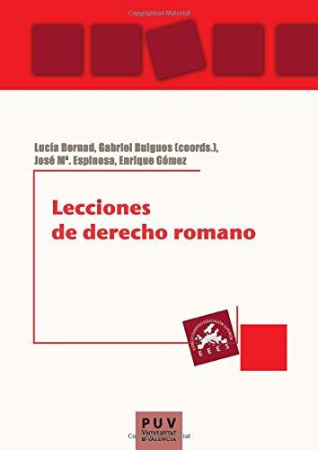 9788437081373: Lecciones de derecho romano (Spanish Edition)