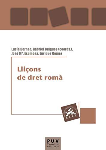 9788437081816: Lliçons de dret romà (Educació. Laboratori de Materials)