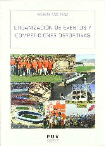 9788437081847: Organización de eventos y competiciones deportivas