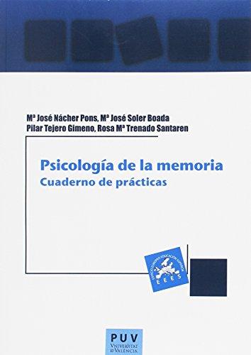 9788437092843: Psicología de la memoria: Cuaderno de prácticas (Educació. Laboratori de Materials)