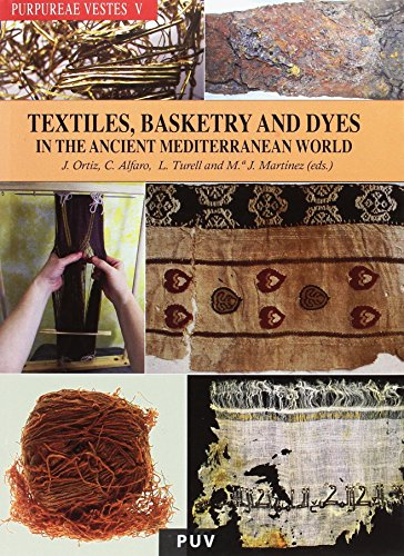 9788437094519: Purpureae Vestes V: Textiles, Basketry and Dyes: In the Ancient Mediterranean World