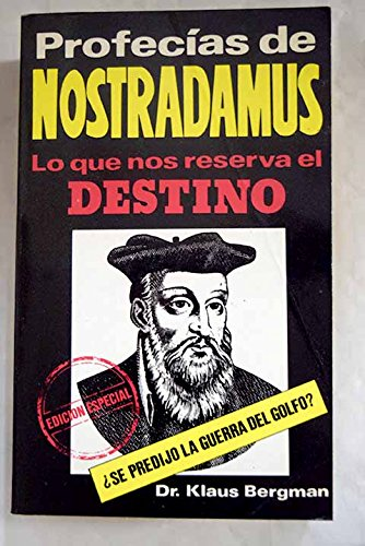 9788437125268: Profecias de nostradamus