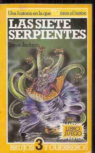 Las siete serpientes: Steve Jackson.