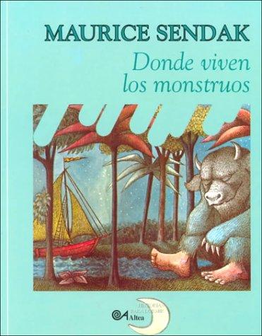 9788437221854: Donde Viven Los Monstruos (Historias Para Dormir) (Spanish Edition)