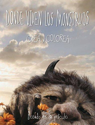 9788437224824: Donde viven los monstruos: Crea y colorea (Spanish Edition)