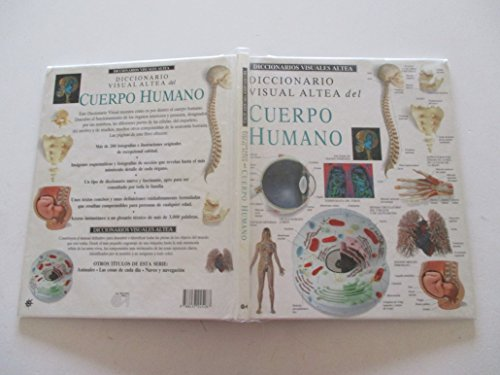 9788437245287: Cuerpo humano - diccionario visual (Diccionarios Visuales Altea-Visual Dictionary)