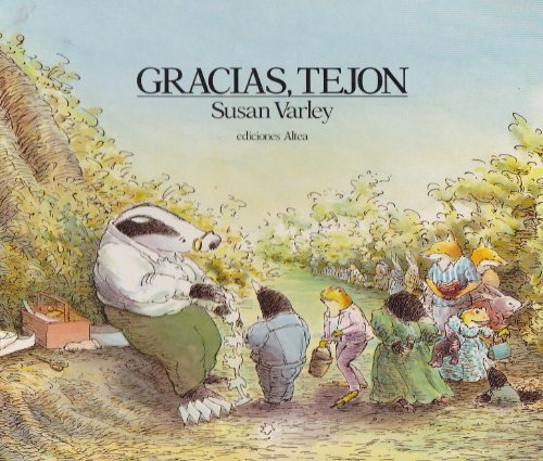 9788437266015: Gracias Tejon/Badger's Parting Gifts (Spanish Edition)