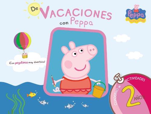 9788437281186: De vacaciones con Peppa.Cuaderno de vacaciones 2 años