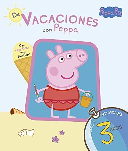 9788437281193: De vacaciones con Peppa Pig: cuaderno de actividades 3 años