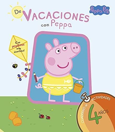 9788437281209: De vacaciones con Peppa: cuaderno de actividades 4 años
