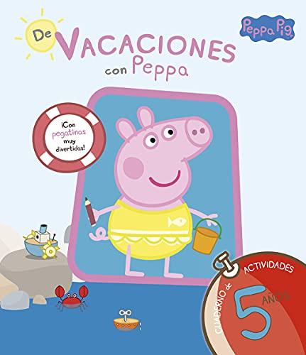 9788437281223: De vacaciones con Peppa: cuaderno de actividades 5 años