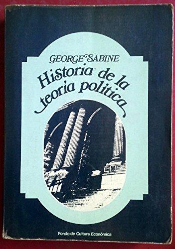 9788437500201: Historia de la teoría política