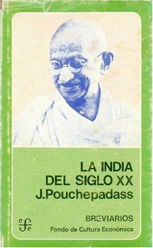 9788437500607: La India del Siglo XX