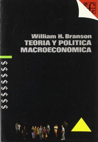 9788437501512: Teoria y Politica Macroeconomica (Spanish Edition)