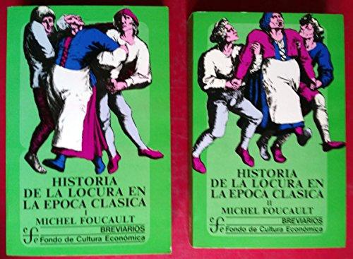 9788437501673: HISTORIA DE LA LOCURA EN LA ÉPOCA CLÁSICA (2 VOLÚMENES)