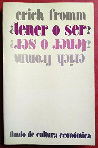 9788437501703: Tener O Ser?
