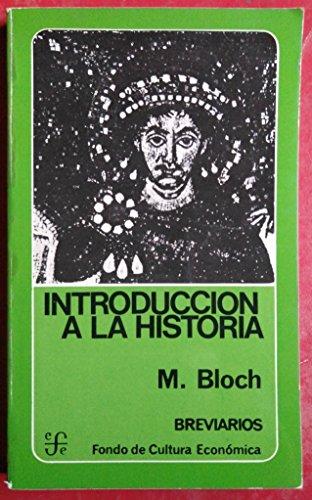 9788437501895: Introducción a la historia (Breviarios, No. 64)