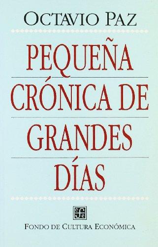 9788437503035: Pequena Cronica de Grandes Dias
