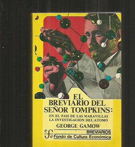 9788437503608: Breviario del señor tompkins, el
