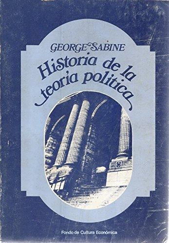 9788437504094: HISTORIA DE LA TEORIA POLITICA