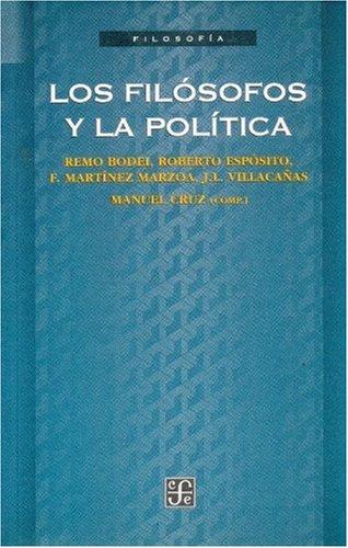 9788437504872: Los filosofos y la politica