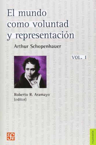 9788437505916: El Mundo Como Voluntad Y Representación - Volumen 1