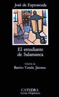 9788437600109: El estudiante de Salamanca (COLECCION LETRAS HISPANICAS) (Spanish Edition)